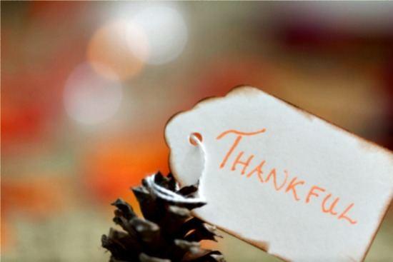I Am Grateful for You!