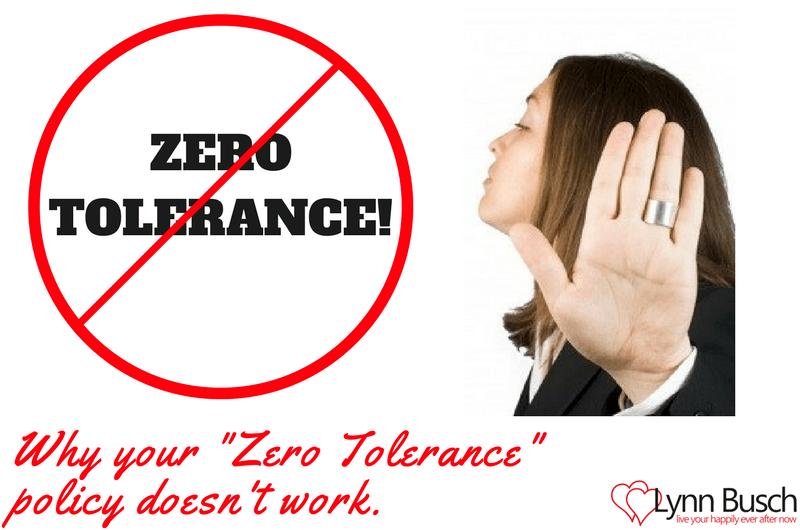 Zero Tolerance on Zero Tolerance!