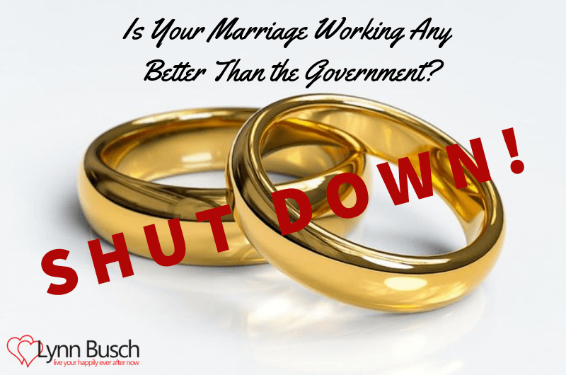 Is Your Marriage Working Any Better Than the Government?